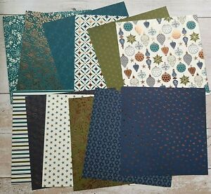 """Stampin' Up! Brightly Gleaming Specialty DSP 12 sheets 6"""" x 6"""""""