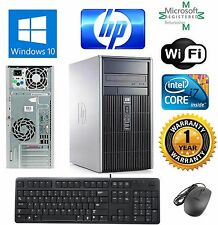 HP 8200 Elite Desktop Computer PC Tower i7 3.40GHz 16GB 1TB Windows 10 Pro 64Bit