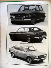 Classic Fiat 128 1116 cc & 1290 cc Haynes Owners Workshop Manual - 1969 to 1979