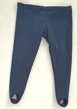 "Navy Blue 6.5X10"" (Laying Flat) Spandex Stretch Pants Doll Clothes"