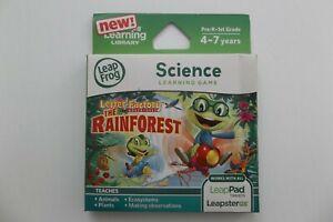 LeapFrog Explorer Letter Factory Adventures  Science Game 4-7 years