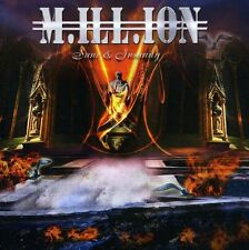 Million (M.ill.ion) ~ Sane & Insanity  New & Sealed CD METAL HEAVEN 2011 RELEASE