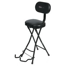 Gator Frameworks Combination Combo Collapsible Padded Seat and Guitar Stand