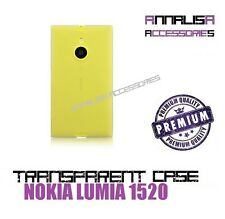 COVER TRASPARENTE PER NOKIA LUMIA 1520 CUSTODIA GEL TPU SLIM TRANSPARENT CASE