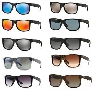 Sonnenbrille Ray Ban RB 4165 Justin Klassische oder Polarisierte Linse
