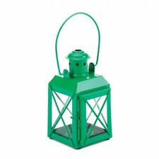 Mini Crisscross Candle Lamp Green