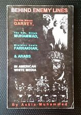 Behind Enemy Lines by Askia Muhammad 1996 Paperback - Marcus Garvey, Farrakhan