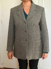 luxueuse veste pied de poule soie et laine bcbg MAX MARA T 42 fr i46 ÉTAT NEUF