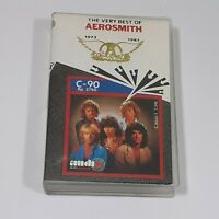 AEROSMITH THE VERY BEST OF INDONESIA IMPORT CASSETTE TAPE ALBUM CLASSIC ROCK