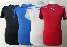 Mens Puma Sports T-Shirt Top Running Gym DryCell Red White Blue Black S M L XL