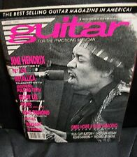 Guitar for practicing musician magazine Jimi Hendrix cover & tabs