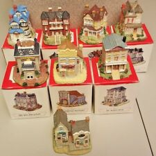 Vintage The American Collection Village Figurines-Lot of 8
