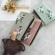 Women Girls New Leather Card Holder Small Purse Wallet Clutch Bag Ladies Handbag