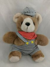 Train Conductor Bear Plush 9