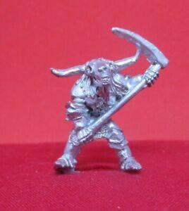 Citadel metal AD&D 1987 UND2-19 SKELETON 'VASHKIRIE BULLHEAD'