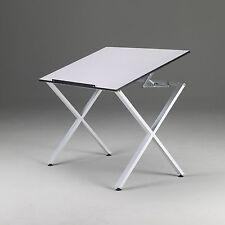 LARGE WHITE Drawing / Art / Drafting Table | Desk | Hobby Craft Homework School