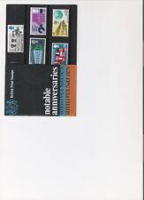1969 ROYAL MAIL PRESENTATION PACK NOTABLE ANNIVERSARIES MINT PRE DECIMAL STAMPS