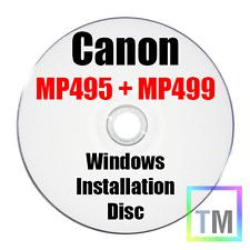 Canon Pixma MP495 Cd Di Installazione Per Stampante Windows