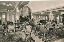 Shipping SS ANTILLES Transatlantique French Line 1st Class Drawing Room RP PPC