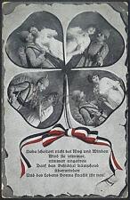 AK Postcard 1916 Army Soldiers Romance Armee Soldaten Woman Feldpost WWI (27)