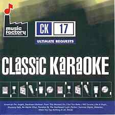 Mastermix (Music Factory) Classic Karaoke CK017 - Ultimate Requests