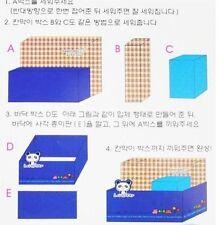 "CUTE and FUN ""DIY Paper Stationery Storage/Organizer ""(PANDA)"