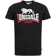 Lonsdale London Battersea Regular Fit T-Shirt Black Schwarz