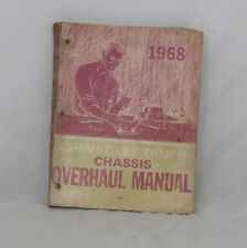 1968 Auto Manual Chevrolet Truck - Chassis Overhaul - ST 134-68 10-60 series
