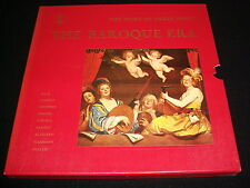 THE BAROQUE ERA<>VARIOUS COMPOSERS<>4 LP Vinyl~Canada Pressing<>TIMELIFE STL 144