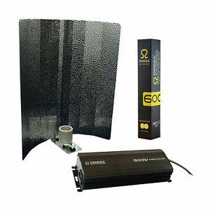 Light Kit 600W Hydroponics Reflector Dimmable Ballast Bulb Dual Spec Grow Tent