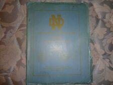 1947 NOTRE DAME FIGHTING IRISH FOOTBALL MEDIA GUIDE Press Book NAT CHAMPIONS! AD