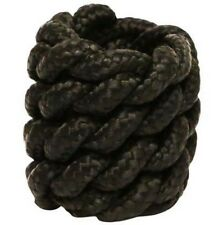 Partrade Horn Knot for Attaching Rope to Saddle Calf Roping Braided Poly Black