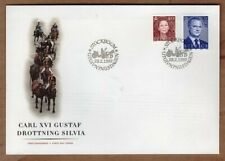 Sweden 1997 King Carl XVI Gustaf - Queen Silvia FDC