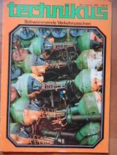 TECHNIKUS 1 - 1988 Schwimmende Verkehrszeichen kosmische Heimat BR 62 Zypern
