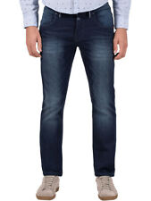 Timezone Herren Jeans Slim Eduardo -  Slim Fit - Blau - Royal Navy Wash