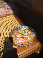 A Teddy Bear Picnic By Carol Lawson Collectible Plate