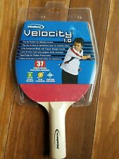 Regent Sports Halex Velocity 1.0 Table Tennis Ping Pong Paddle Red / Black - New