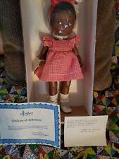 Effanbee Black Patsy Girl Dolls NIB Red/White Girl Original COA S.D.H EXCLUSIVE