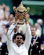 Novak Djokovic - Signed Colour photo