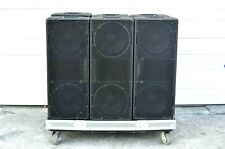 EAW SM222 STAGE MONITOR LOADED WITH 2445J HIGH FREQUENCY DRIVERS (LOT OF 6)