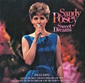 SANDY POSEY - SWEET DREAMS (NEW CD) Single Girl - Born A Woman