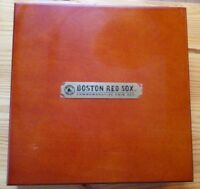 MLB BOSTON RED SOX 6X WORLD SERIES CHAMPS COMMEMORATIVE COIN SET IN WOODEN BOX