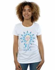 Disney Women's Frozen Elsa Snowflake T-Shirt
