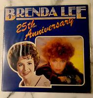 BRENDA LEE 25TH ANNIVERSARY - Vinyl Record 2xLP Album VG/VG+