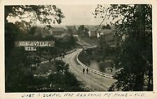 """""""A Scenic Not Far From My Home"""", Kohlsville, Brownsville, Wisconsin WI RPPC 1940"""