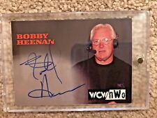 Topps WCW NWO Bobby Heenan On Card Auto Autograph 1998 1999 WWE WWF