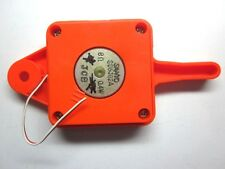 Vintage 1980's Tomy Astro Shooter Pinball Speaker In Orange Housing Repair Part