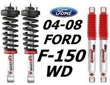 Rancho Loaded Quicklift Struts & RS9000XL Rear Shocks For 04-08 Ford F-150 WD
