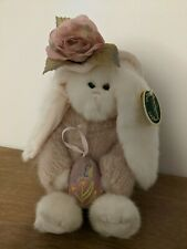 BEARINGTON BEARS COLLECTION Peg and Egg Stuffed Plush Toy Bunny Rabbit