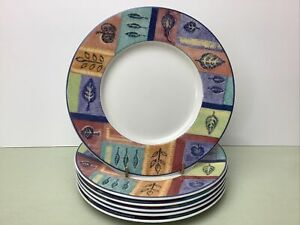 Doulton Everyday Trailfinder 6 x Side Plates Look Unused Condition 7""
